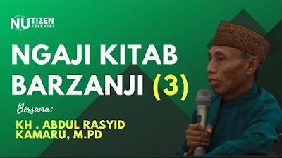 Ngaji Kitab Berzanji Bersama KH Abd Rasyid Kamaru