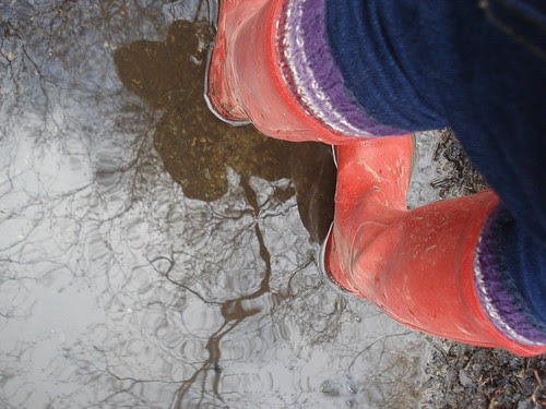 wet welly walk