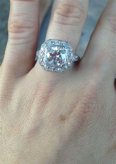 Family heirloom!! Engagement ring!!!   Diamonds Are A Girl