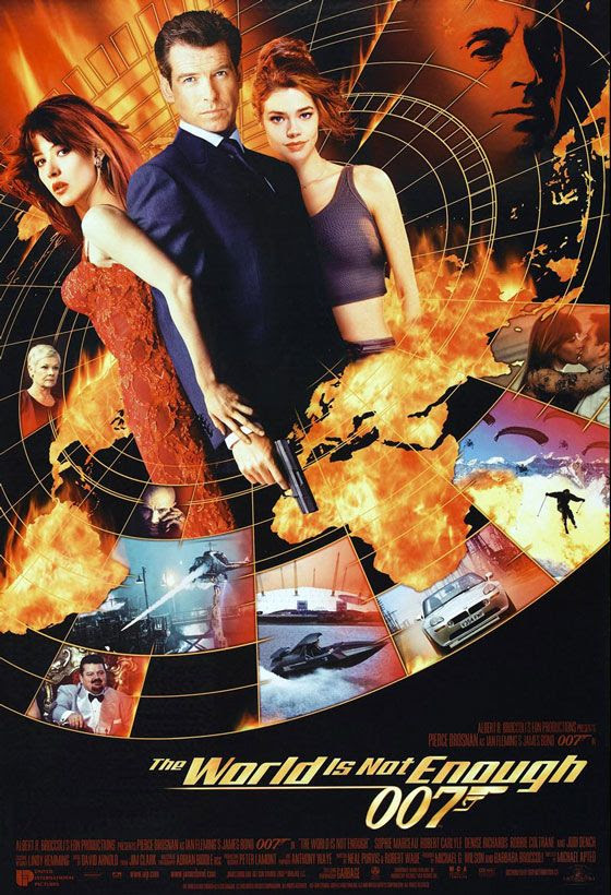 James Bond 007 The World Is Not Enough Poster