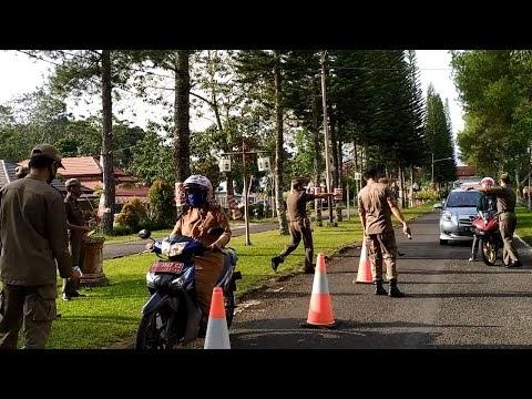 Hajatan di Tengah Pandemi Kena Grebek Satpol PP Lampung Barat