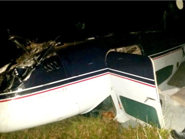 Avião furtado no Aeroporto Marechal Rondon é encontrado caído na Bolívia