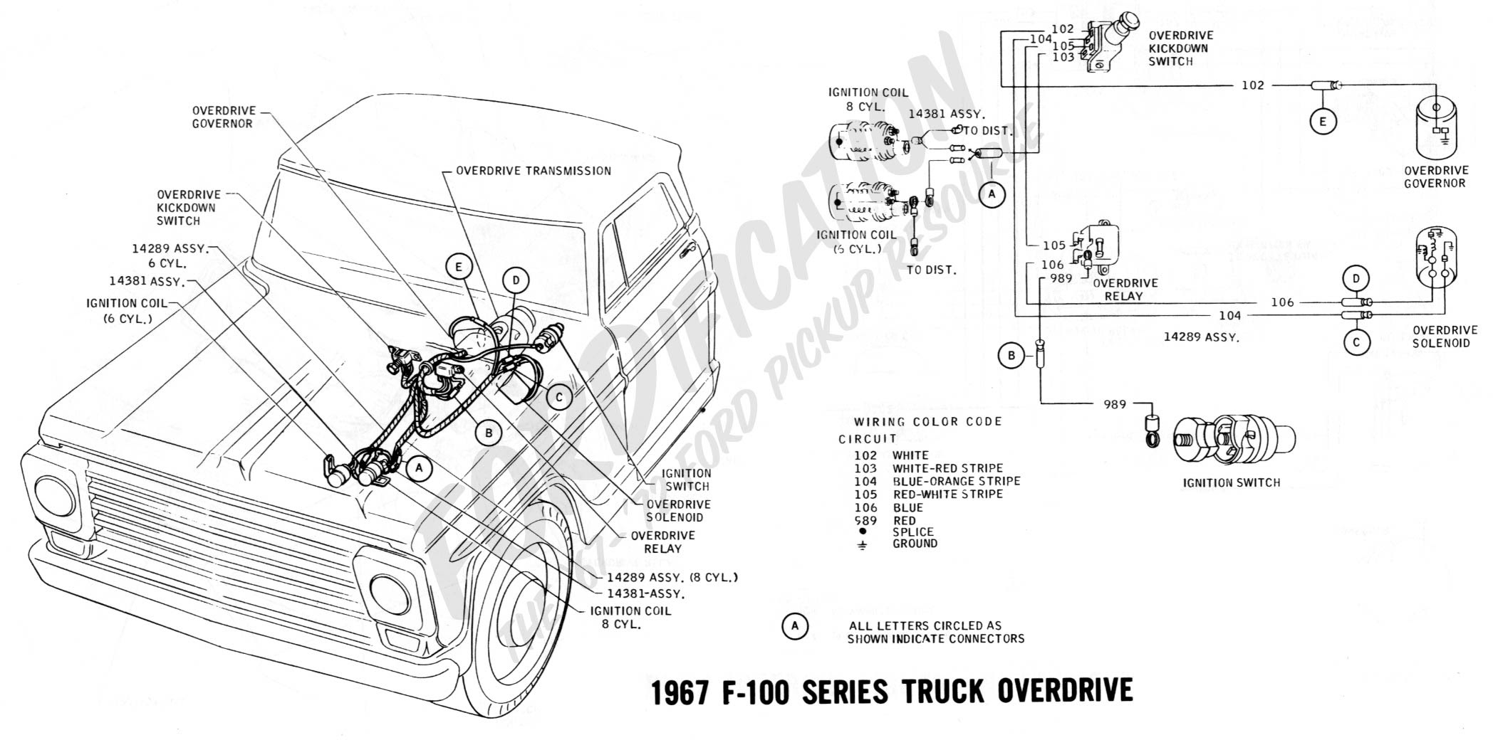 1968 Ford F250 Engine Diagram Wiring Diagram View A View A Zaafran It