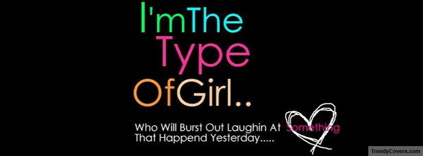 Girl Quote Facebook Cover Trendycoverscom