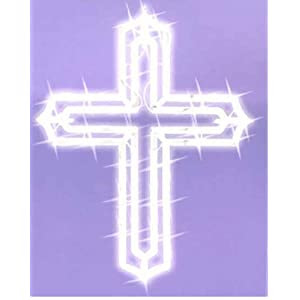 Amazon.com: LIGHTED EASTER CROSS WINDOW DECORATION 19