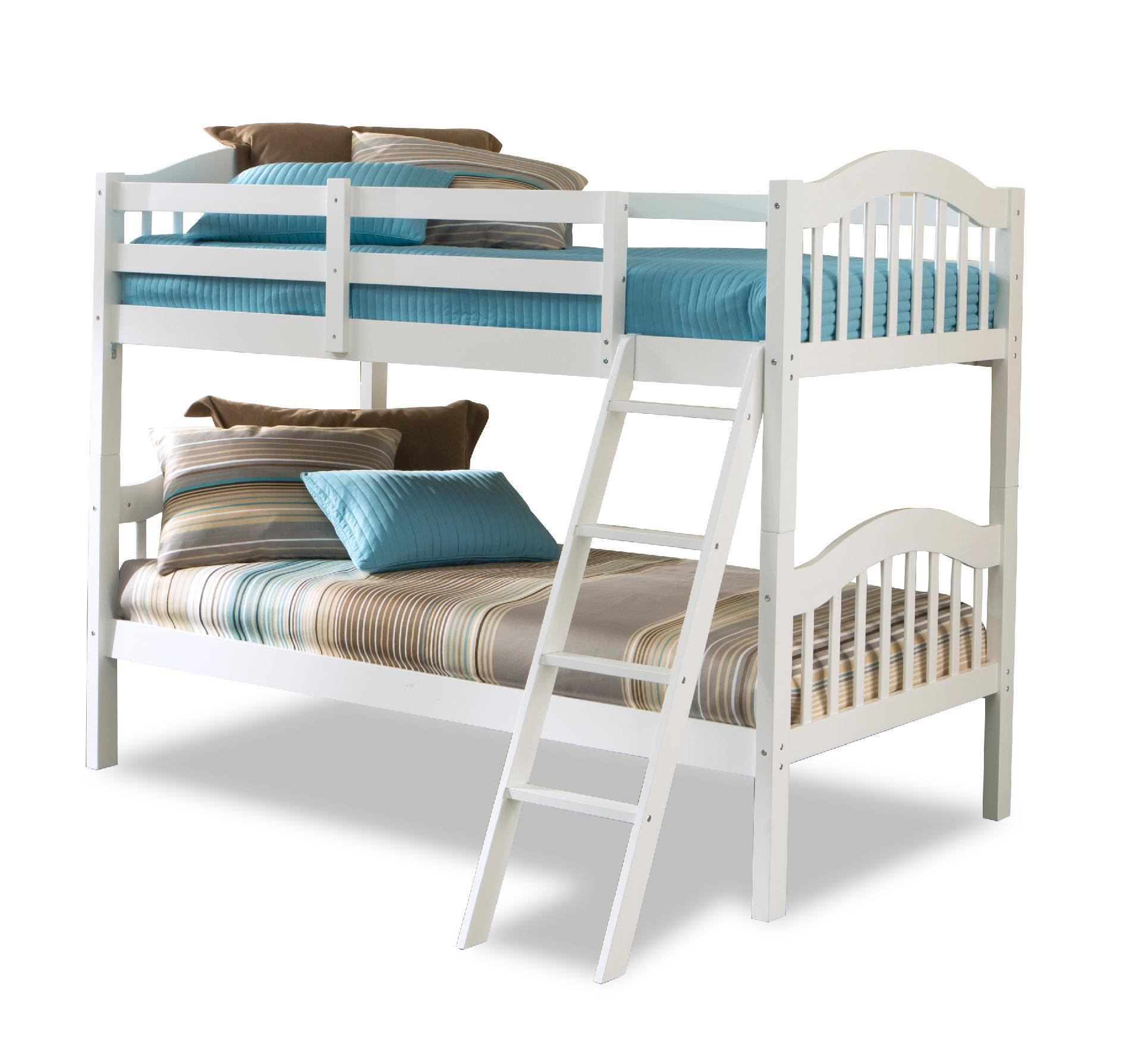 Stork Craft Long Horn Bunk Bed  White  Home  Furniture  Bedroom Furniture  Beds
