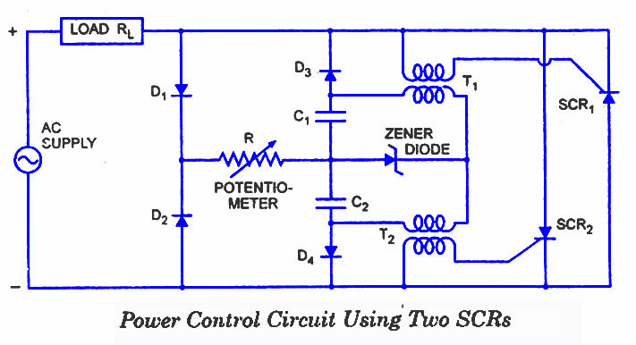 SCR Applications - Electronic Circuits and Diagram-Electronics ...