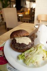 Good Morning Burger Plate, Good Morning Cafe, Sendagaya