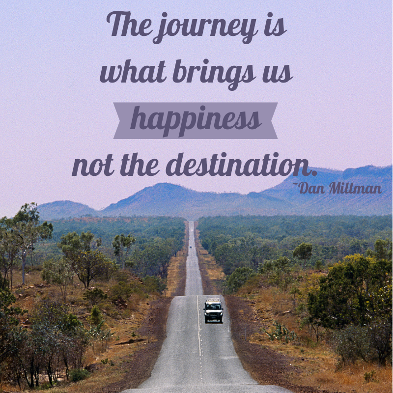 Creating Happiness In The Journey