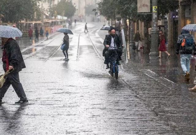 Sempre Israel… Até Quando Não Chove!