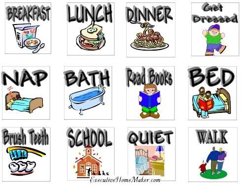 1000+ ideas about Daily Schedule Kids on Pinterest | Toddler ...