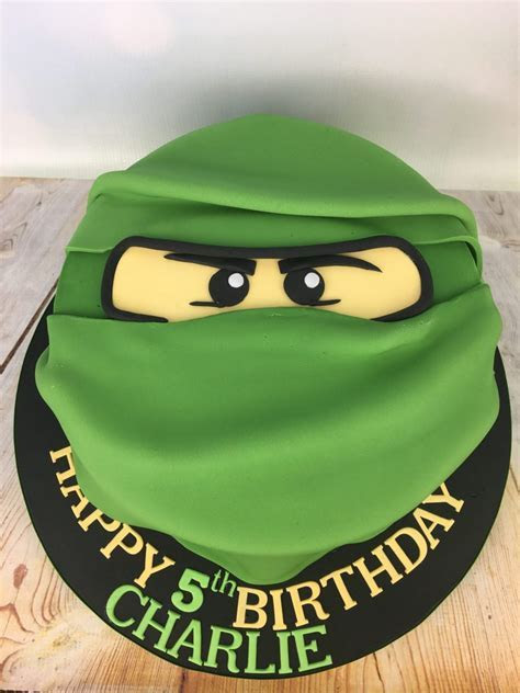 Lego Ninjago 5th birthday cake   Mel's Amazing Cakes