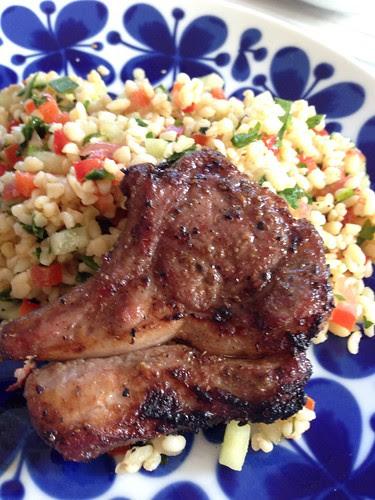 Cardamom Lamb Chop