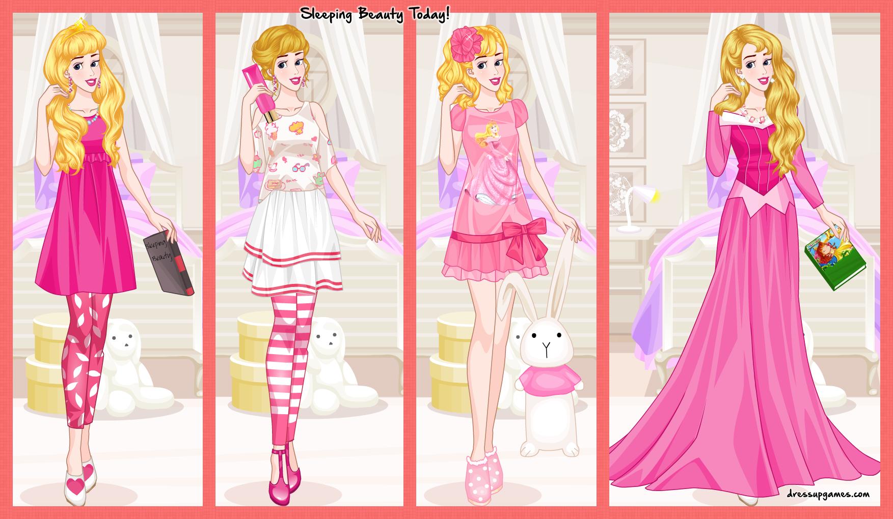 Sleeping Beauty Today by DressUpGamescom on DeviantArt