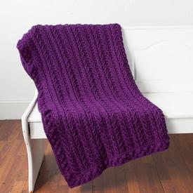 Aspen Ridge Afghan - Crochet Pattern