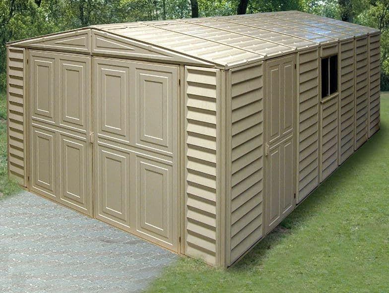 10' x 18' Duramax VDM Plastic Garage - What Shed