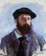 Claude Monet by himself