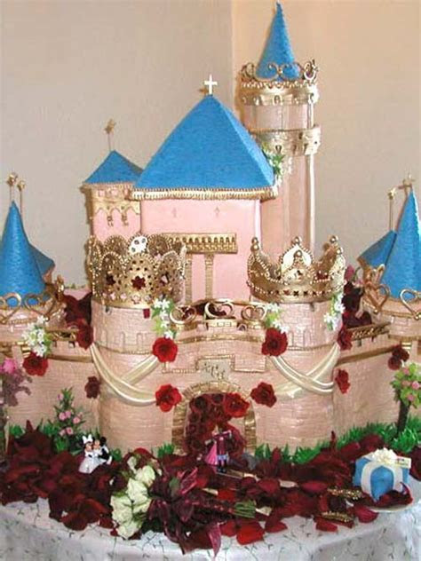 Castle Wedding Cakes for the Princess Bride