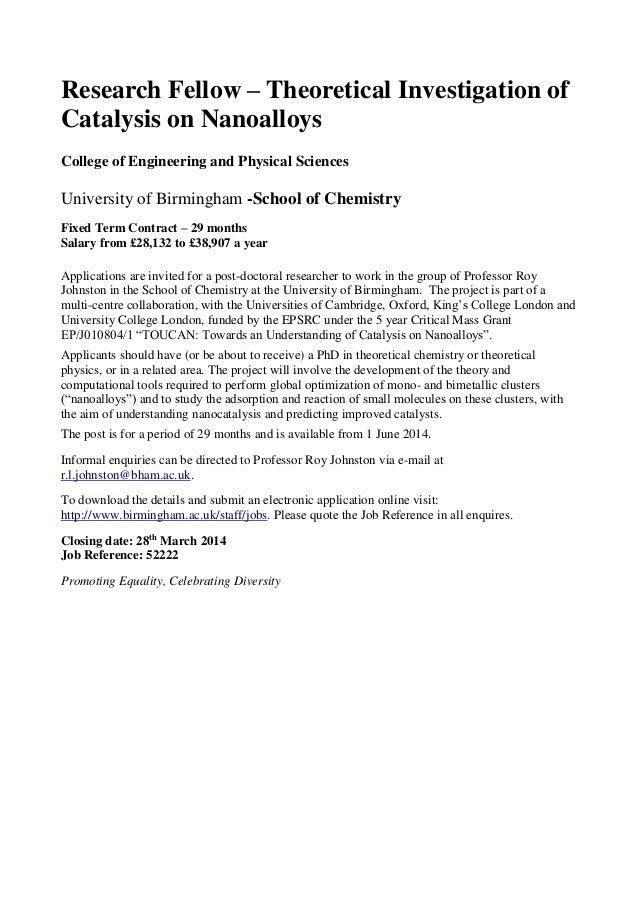 Cover Letter Example Professor