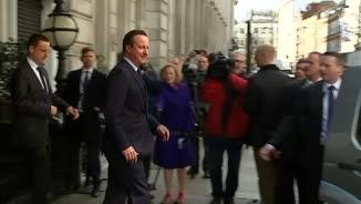 El primer ministre britànic, David Cameron