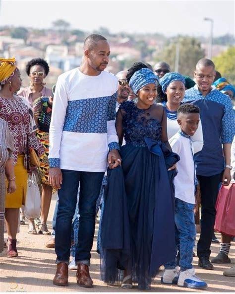 Shweshwe Dresses for a Wedding 2019   African10   African