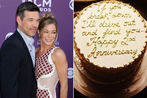 Check Out LeAnn Rimes' Sugary Sweet 2nd Anniversary Cake