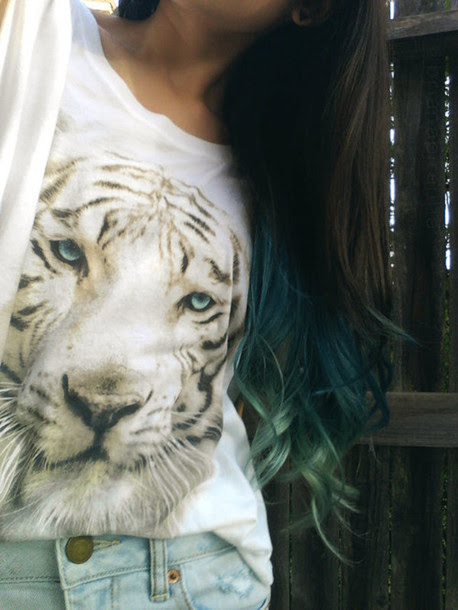 Skirt Lion Animal Shirt Tumblr Hipster Leopard Print Lepords