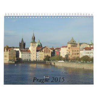 Prague 2015 Travel Calendar
