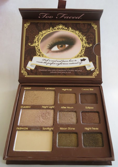 Too Faced Natural at Night Eyeshadow Collection