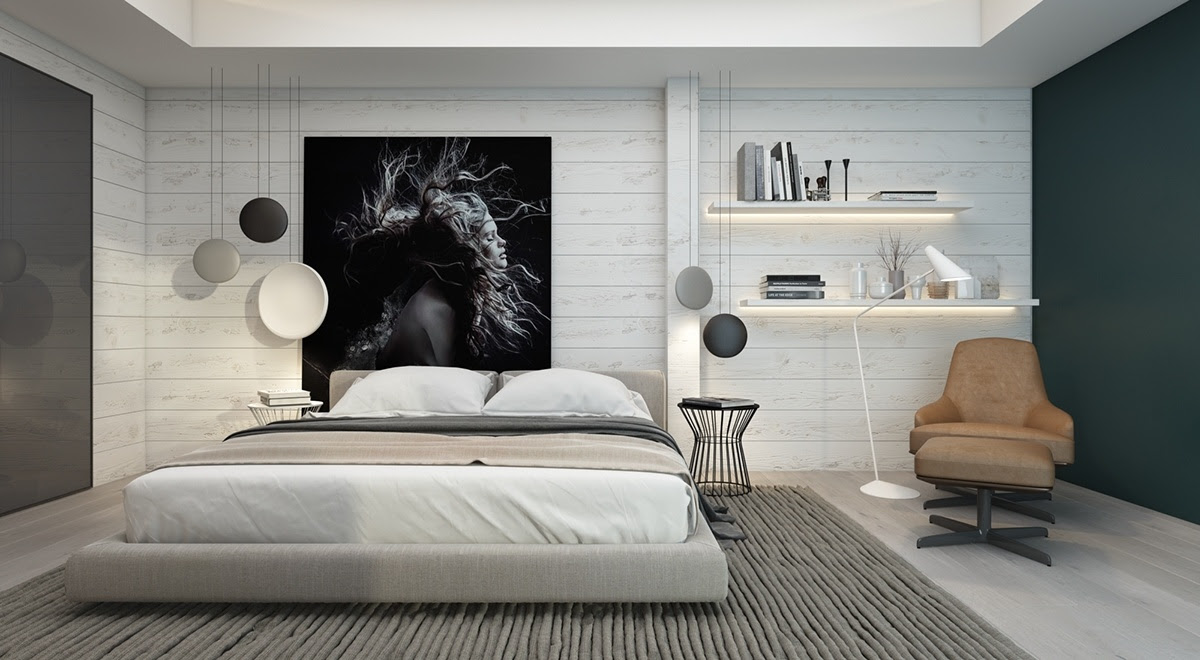 Ideas For Decorating A Bedroom Wall | Home Decor