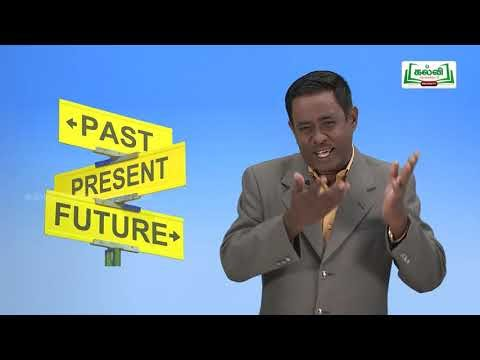 Class 11 English Unit 1 Grammar Tense Part 2 Kalvi TV