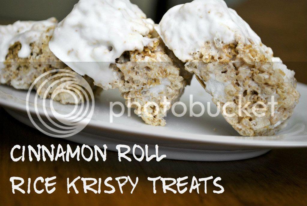 Cinnamon Roll Rice Krispies