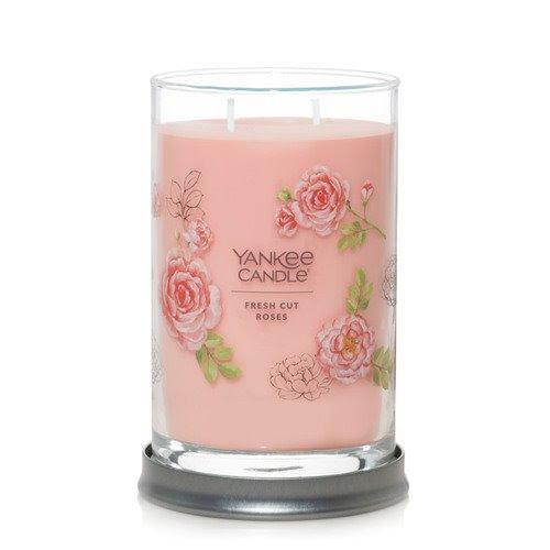 Yankee Candle Fresh Cut Roses Large 2 Wick Tumbler Candle ...