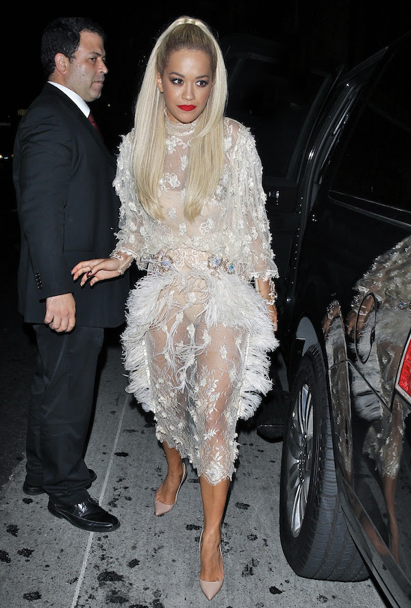 Rita Ora heads to Pikey Bar after Take-Two E3 Kickoff Party