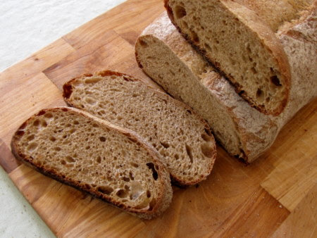 Beer Bread with Roasted Barley