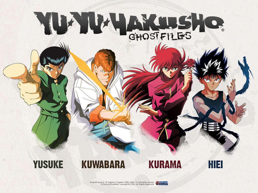 Group Shot Yu Yu Hakusho Wallpaper 23212473 Fanpop