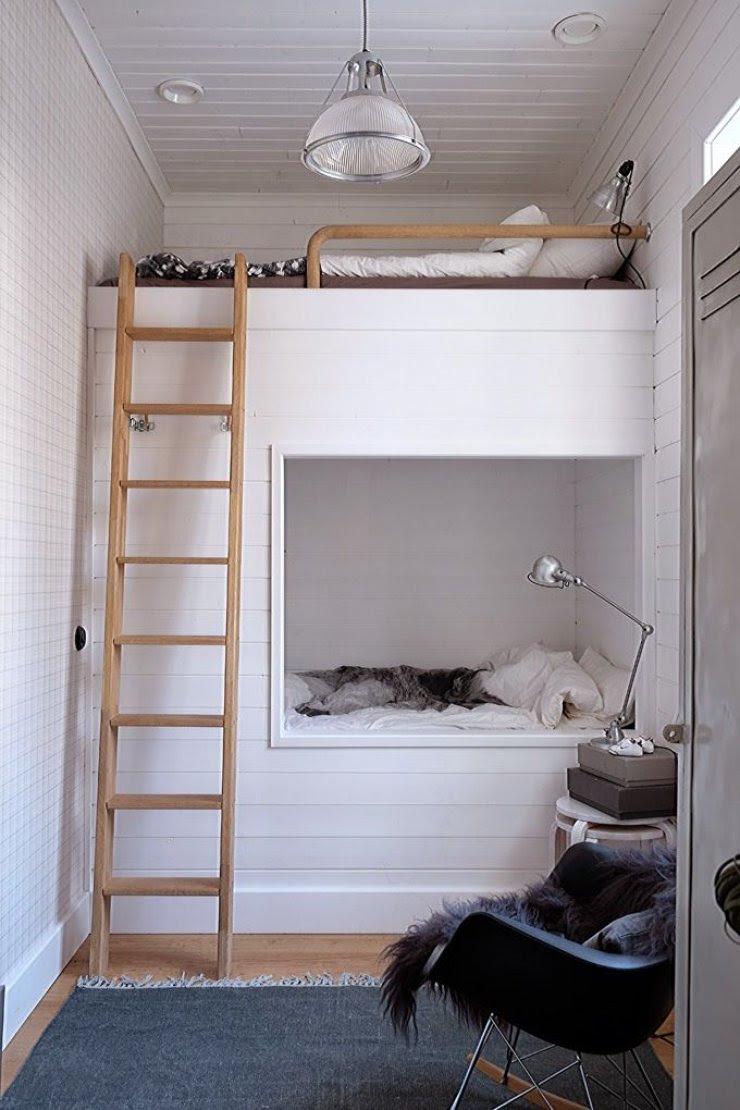 build in loft bed