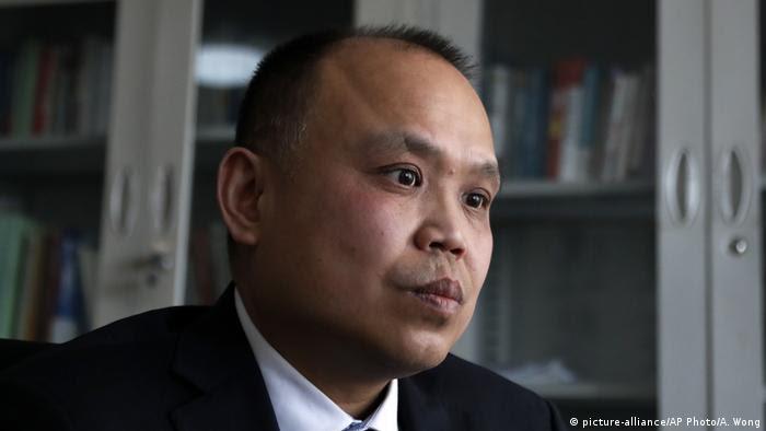 Yu Wensheng (picture-alliance/AP Photo/A. Wong)