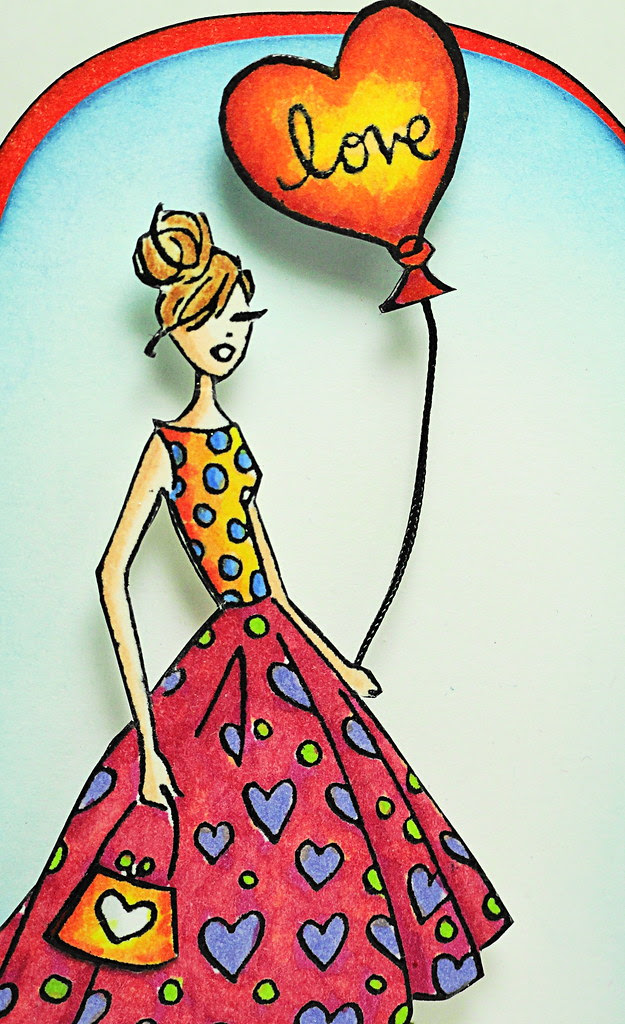 Fashion Girl Close Up