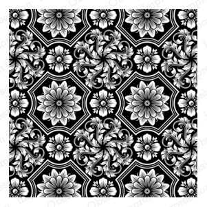 Cover-a-Card Ornate Floral