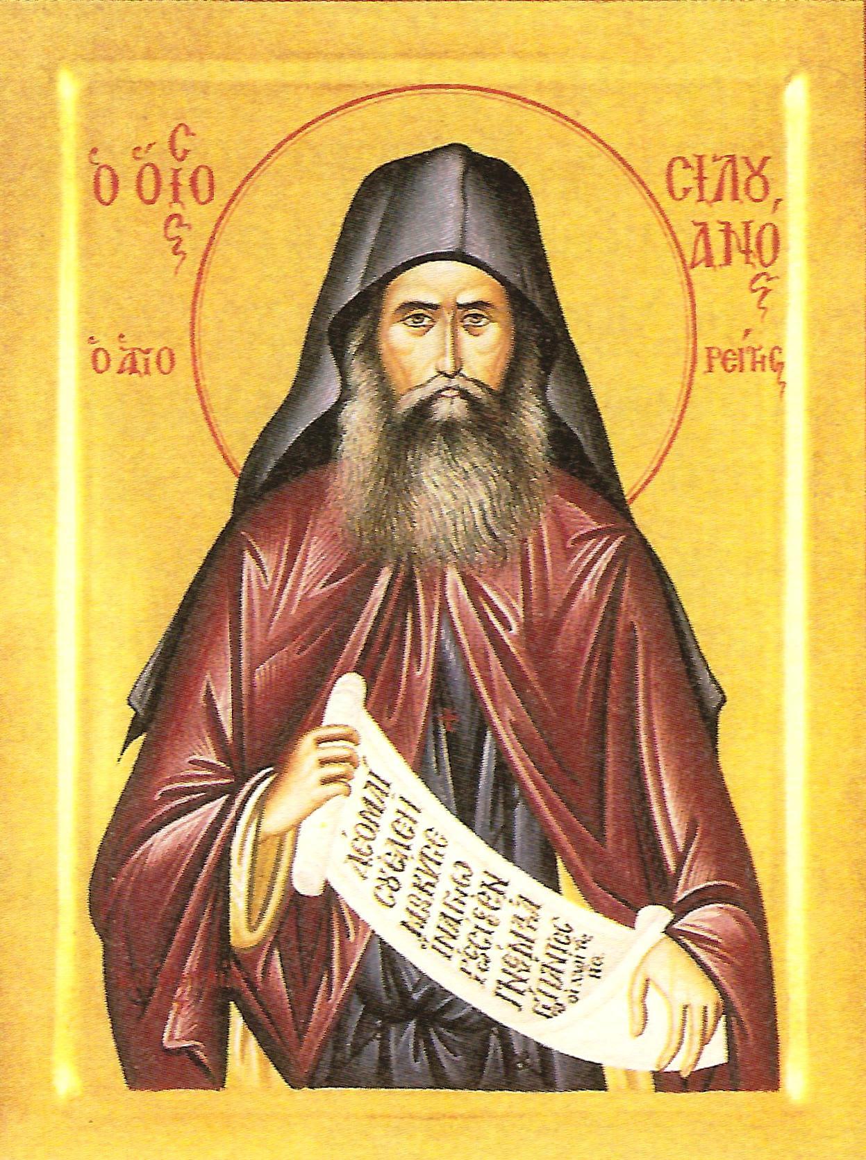 Αποτέλεσμα εικόνας για αγιοσ σιλουανοσ εικονα