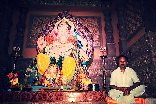 Advocate Ashish Shelars Ganpati  2012 Shot By Nerjis Asif Shakir 14 Month Old by firoze shakir photographerno1