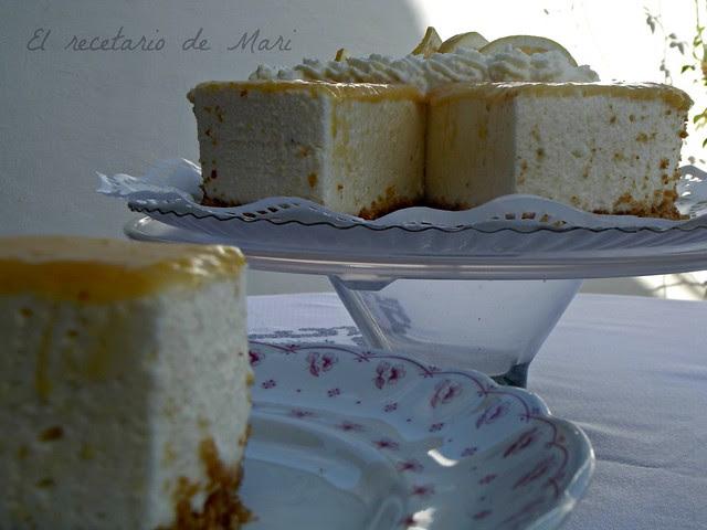 Tarta de queso y limón 14