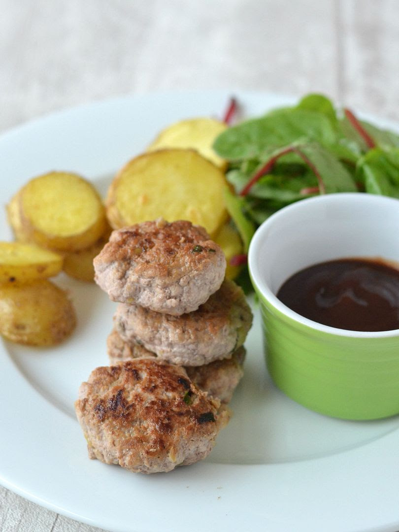 Pork, Apple & Herb Patties