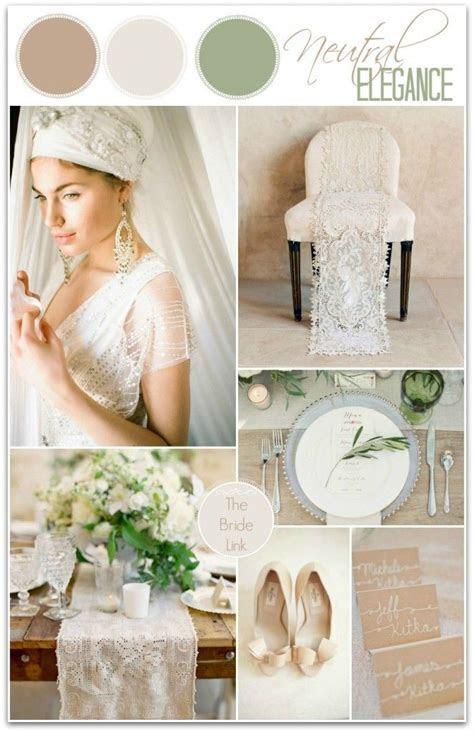Soft, Neutral Wedding Color Ideas   Bride Link