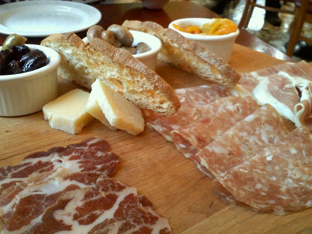 Naples Ristorante e Pizzeria - Anaheim, CA, United States. Chef Special Appetizer, Charcuterie plate created by the chef! Not on the menu.