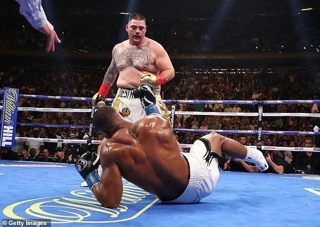 ANDY RUIZ TAKES ON ANTHONY JOUSHUA DUE TO FINANCIAL OFFER
