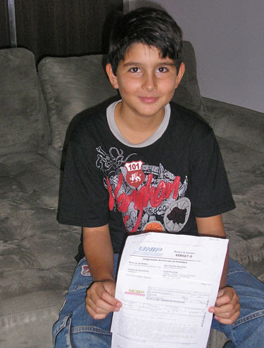 G1 Vestibular E Educação Notícias Menino De 8 Anos Passa No