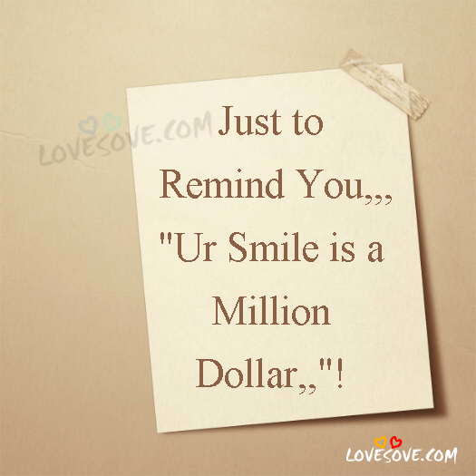 Just To Remind You Smile Quotes Image For Whatsapp