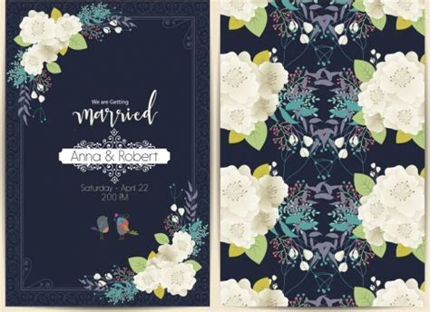 Wedding card vector free vector download (13,424 Free
